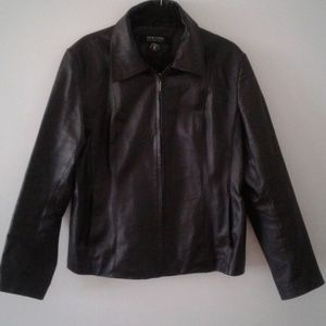 New York & Company XL leather jacket